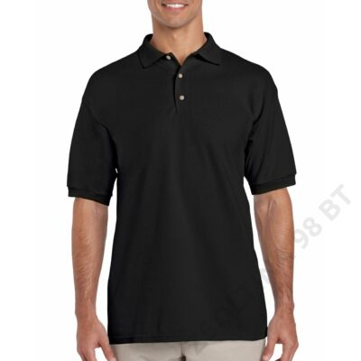 GI3800 ULTRA COTTON™ ADULT PIQUE POLO, Black