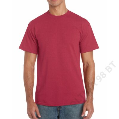 GI5000 HEAVY COTTON™ ADULT T-SHIRT, Antique Cherry Red
