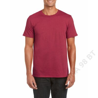 GI64000 SOFTSTYLE® ADULT T-SHIRT, Antique Cherry Red