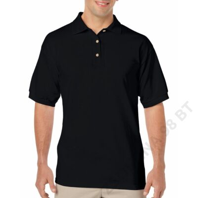 GI8800 DRYBLEND® ADULT JERSEY POLO, Black
