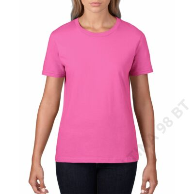 GIL4100 PREMIUM COTTON® LADIES' T-SHIRT, Azalea