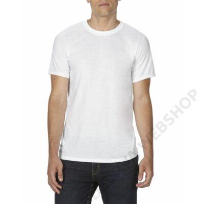 GISUB42 SUBLIMATION ADULT  T-SHIRT, White