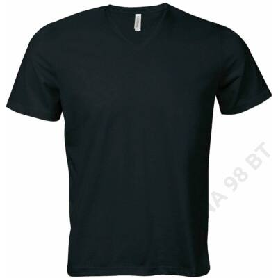 KA353 CALYPSO – MEN'S SHORT SLEEVE V-NECK T-SHIRT, Black
