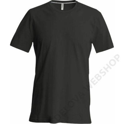 KA356 MEN'S SHORT SLEEVE CREW NECK T-SHIRT, Black