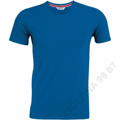KV2104 MEN'S SHORT SLEEVE VINTAGE T-SHIRT, Vintage Blue