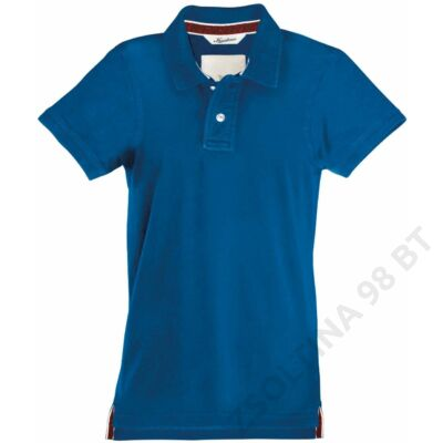 KV2200 MEN'S SHORT SLEEVE PIQUE POLO SHIRT KARIBAN VINTAGE, Vintage Blue