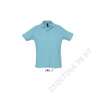 SO11342 SUMMER II MEN'S POLO SHIRT, Atoll Blue