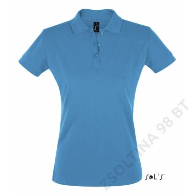 SO11347 PERFECT WOMEN POLO SHIRT, Aqua