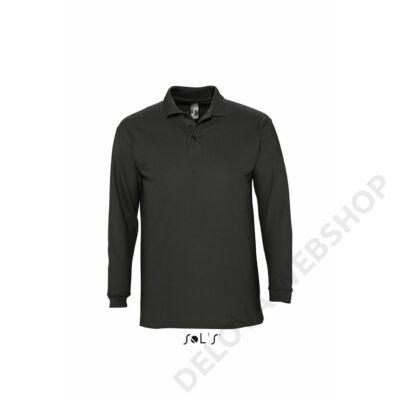 SO11353 WINTER II POLO SHIRT, Black