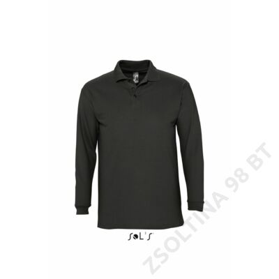 SO11353 WINTER II POLO SHIRT, Black