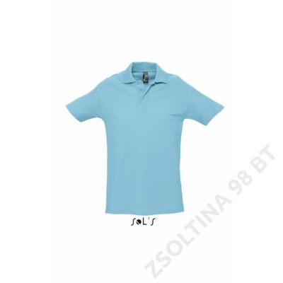 SO11362 SPRING II MEN'S PIQUE POLO SHIRT, Atoll Blue