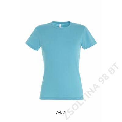SO11386 MISS WOMEN'S T-SHIRT, Atoll Blue