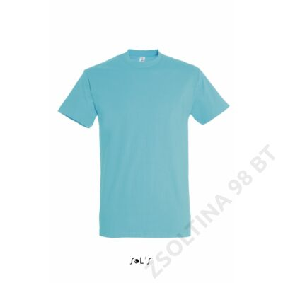 SO11500 IMPERIAL MEN ROUND COLLAR T-SHIRT, Atoll Blue