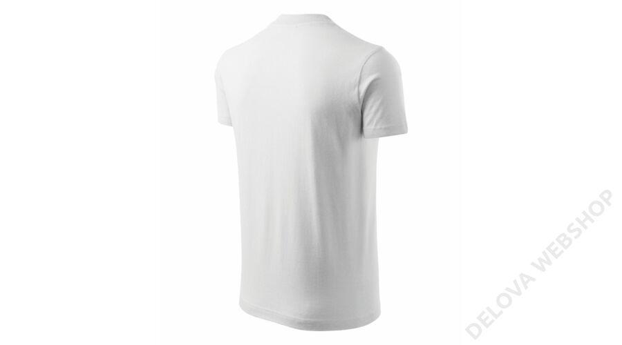 ca211b49f5 V-neck ADLER pólók unisex, fehér -Zsoltina 98 BT.